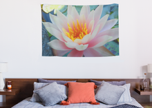 Load image into Gallery viewer, Beautiful Tapestry Water Lily - Brooklyn Botanic Gardens, New York City - ARTSY STYLE
