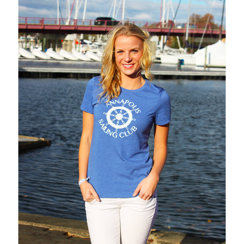 """Annapolis Sailing Club"" T-Shirt - Devon Maryn"