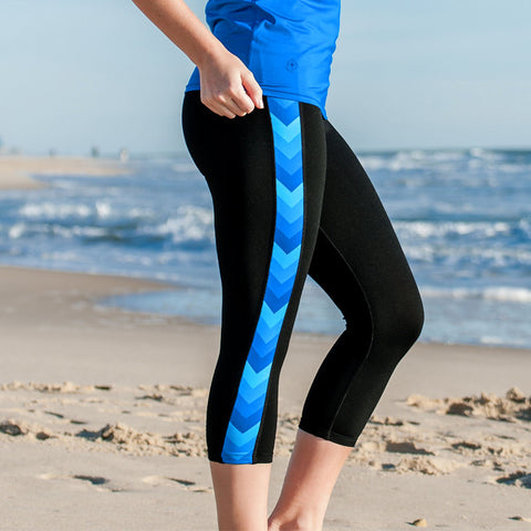 """Bows to Toes"" Yoga Capris"