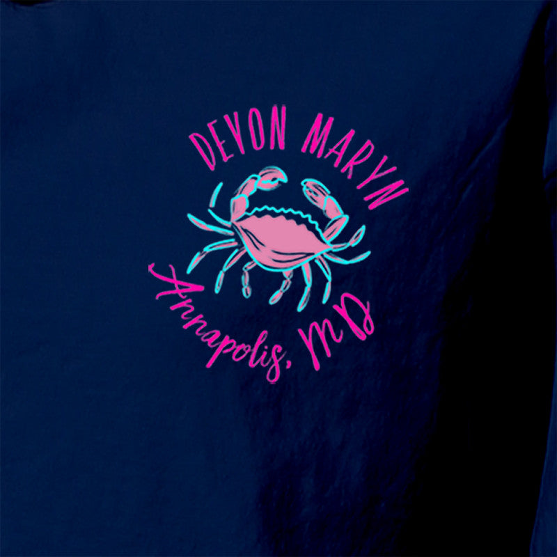 """Crab Cakes & Football"" T-Shirt - Devon Maryn"