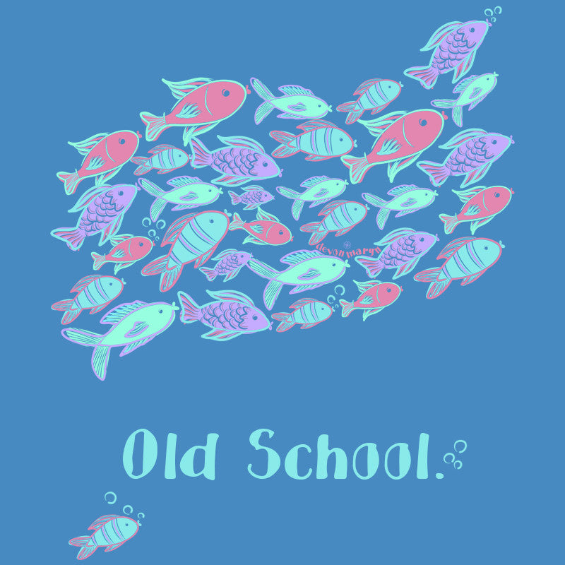 """Old School"" T-Shirt - Devon Maryn"