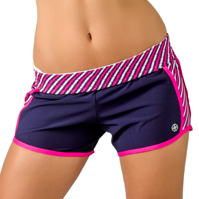 """Stripe Down"" Shorts - Devon Maryn"
