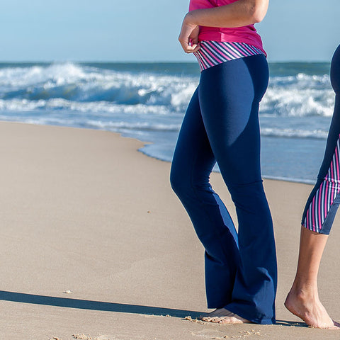 """Cross the Line"" Pocket Yoga Leggings"