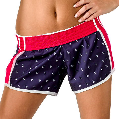 """Butter Me Up"" Lobster Shorts (Black)"