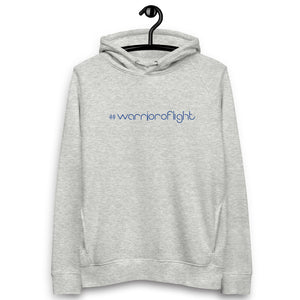 WARRIOR OF LIGHT Organic Unisex Hoodie