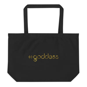 GODDESS Large Organic Tote Bag