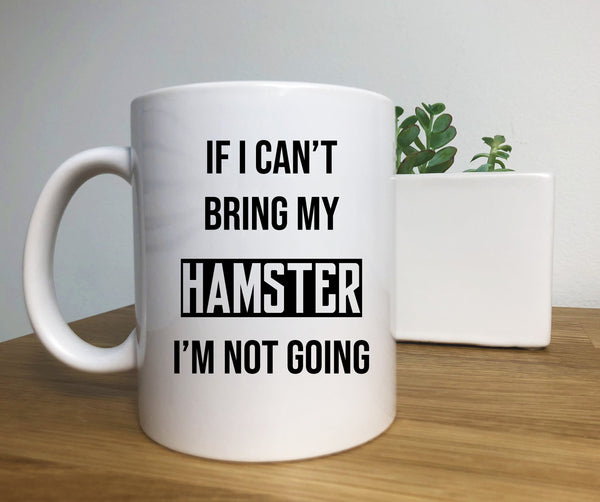 Hamster Coffee Mug, Hamster Lover Gifts, Hamster Mom, Hamster Pet, Animal Lover
