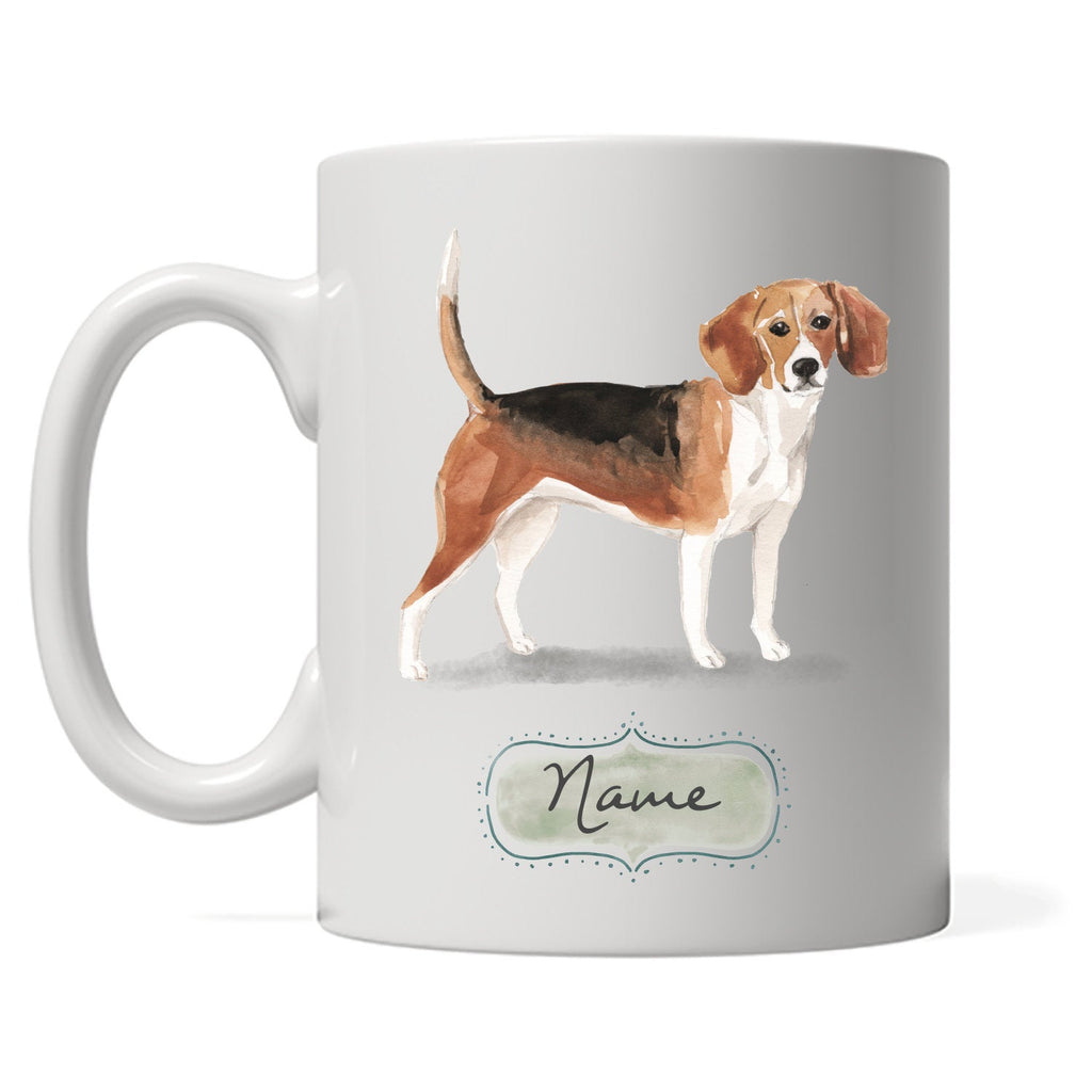 Personalized Beagle Coffee Mug, Gift for Dog Owner