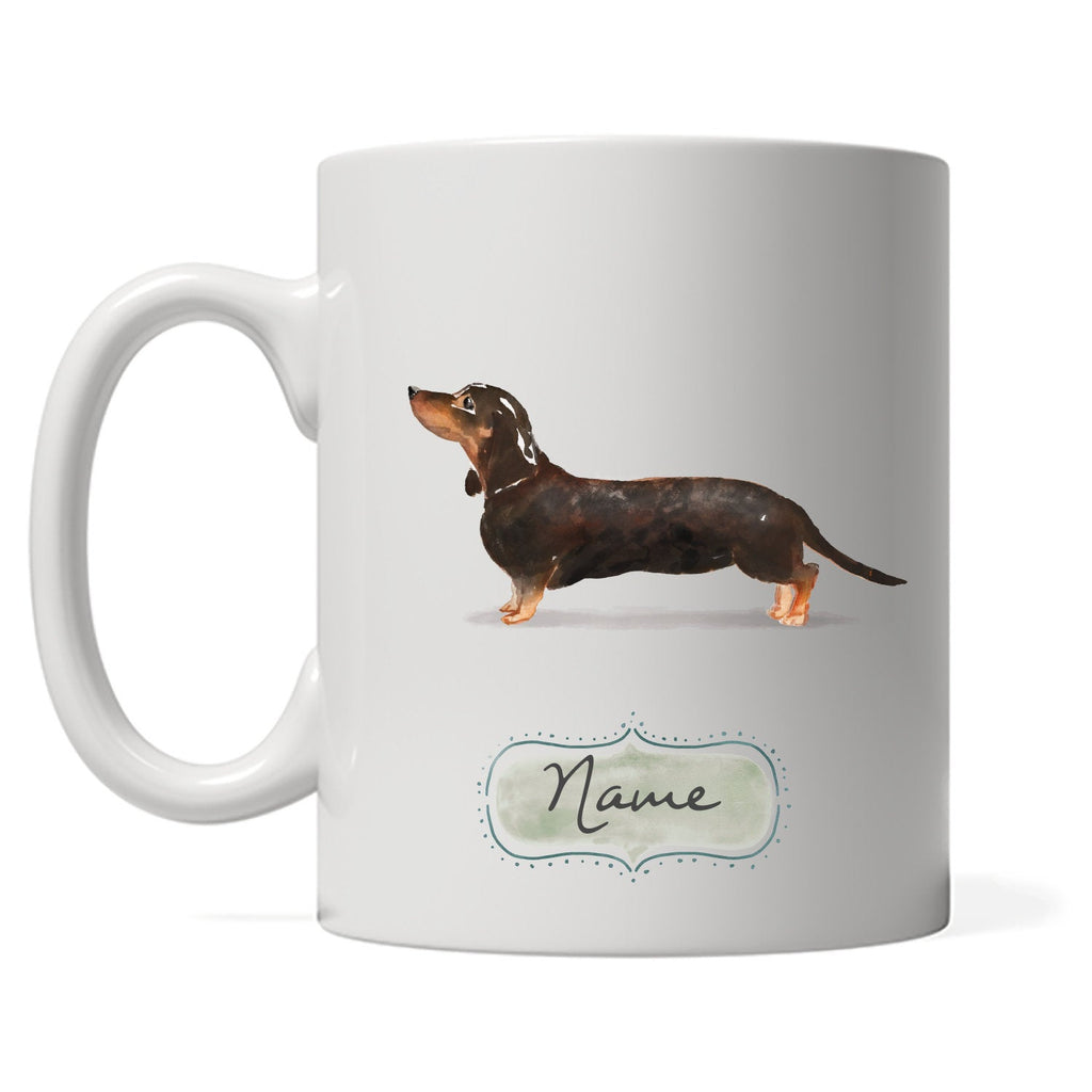 Dachshund Design with DOGS Name, Perfect for Dachshund Owners