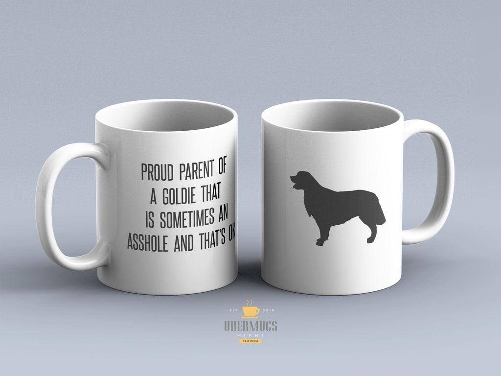 You and your Goldie Mug, Custom Golden Retriever tea cup, Dog mom Gift, Golden Gift