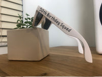 White Party Sunglasses, Personalized Cruise Sun Glasse, Vacation Cruise Sunglasses, Wedding Sunglasses, Bachelorette Gifts, Party Favors