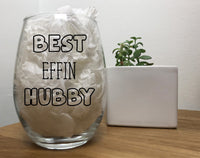 Best Effin Hubby, Funny Hubby Gift From Wife, Hubby Present, Husband, Husband Gift, Anniversary Gift