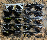 Groomsmen Sunglasses , Gift for Him, Wedding Sunglasses, Party Favor Personalized Wedding
