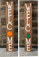 DIY (Paint at home) 5ft. Interchangeable WELCOME sign