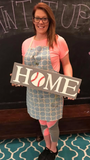 DIY Interchangeable HOME sign (additional) pieces