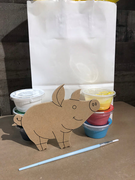 Mini Pig Plaque Kit