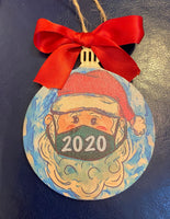"""Corona Clause"" 2020 Ornament"