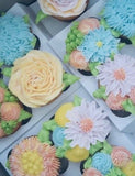 9/17/2020 (7pm) Sunflowers or Succulents Cupcake Class-$30