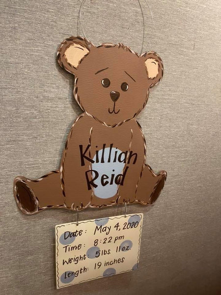 Teddy Bear Hospital Door Hanger