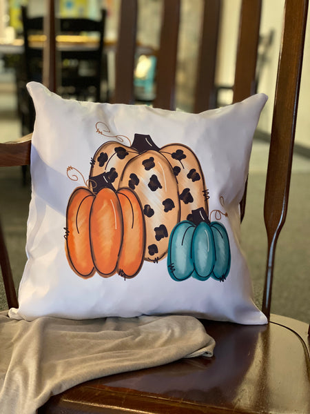 Pumpkins Pillow Cover