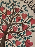 Heart Tree with Personalization