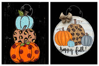 9/10/2020 (6pm) Pumpkins Door Hanger-$30