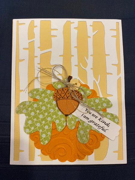 10/17/2020 (10:30 am) Card Making Class-$25