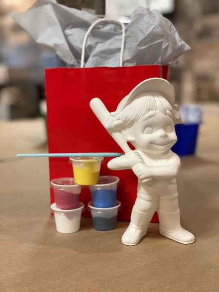 Ceramic Baseball Girl Kit