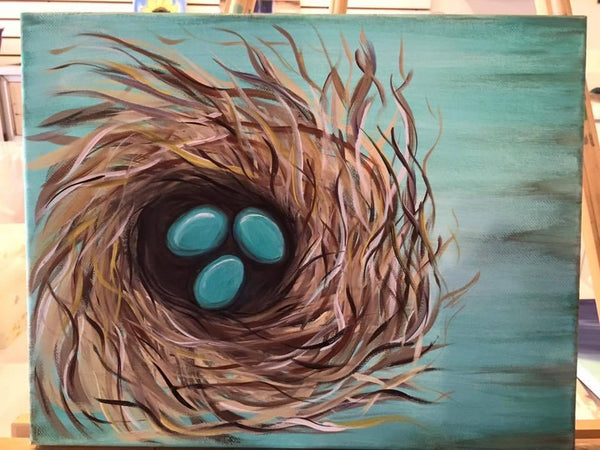 Robin's Nest Canvas