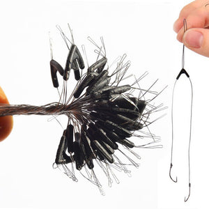 50pcs Fishing Tackle Double Hooks