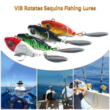 VIB Rotates Sequins Fishing Lure