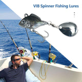 1PC VIB Spinner Lure