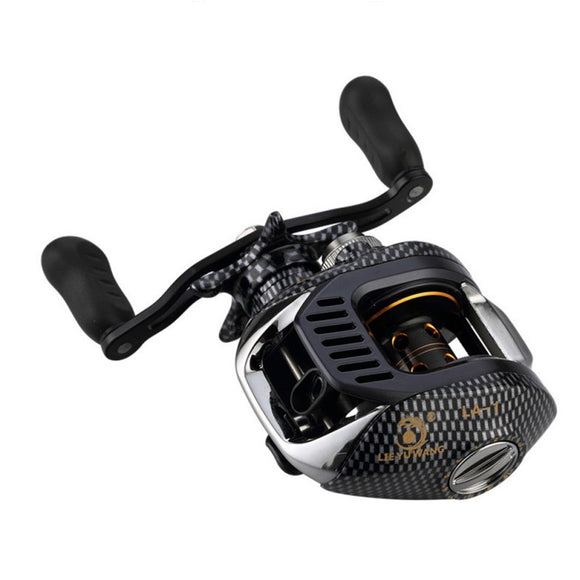 6.3:1 Baitcast Reel - 13 Bearing With Large Line Capacity