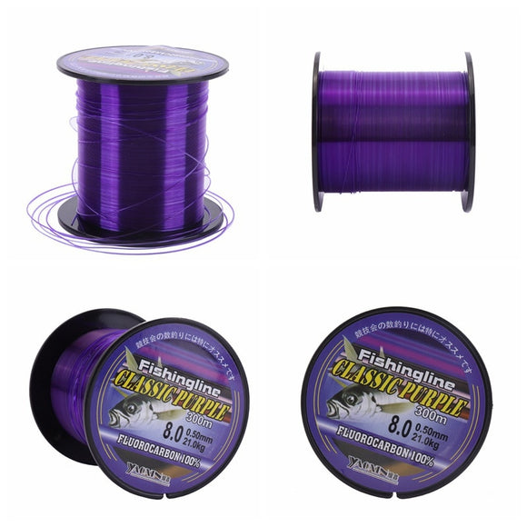 100-500m Fluorocarbon Monofilament Nylon Fishing Line