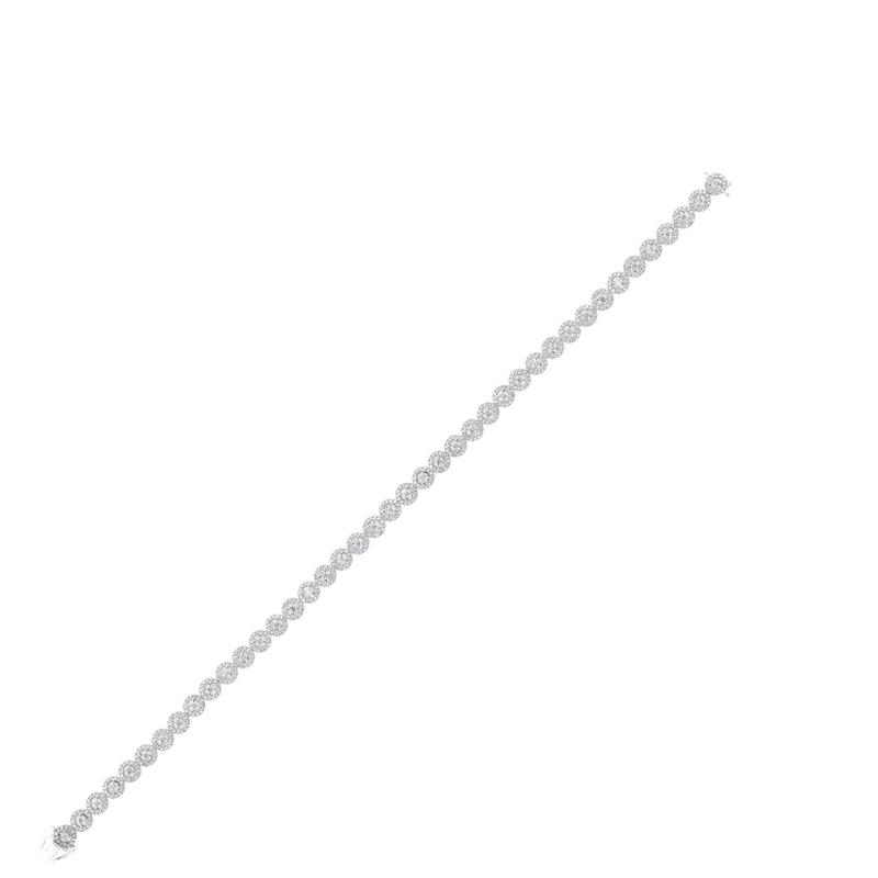 14kw tru ref prong diamond bracelet 2ct, pd10313-4wf