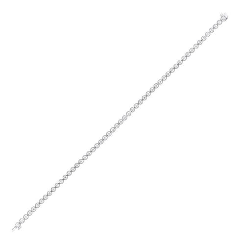 14kw tru ref bezel diamond bracelet 1ct, pd10310-4wc