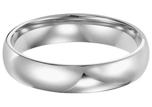 Men's Gold Wedding Band 5MM