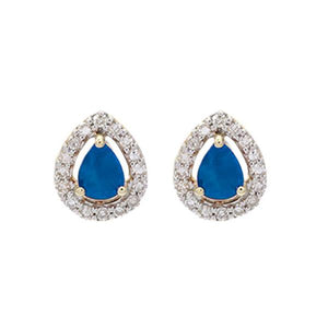 10kw color ens prong sapphire earrings 1/250ct, fr1029-1pd