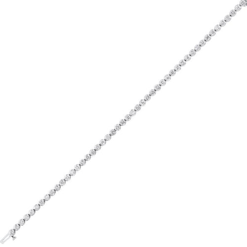 14kw prong diamond bracelet 3ct, rg10641-4yb