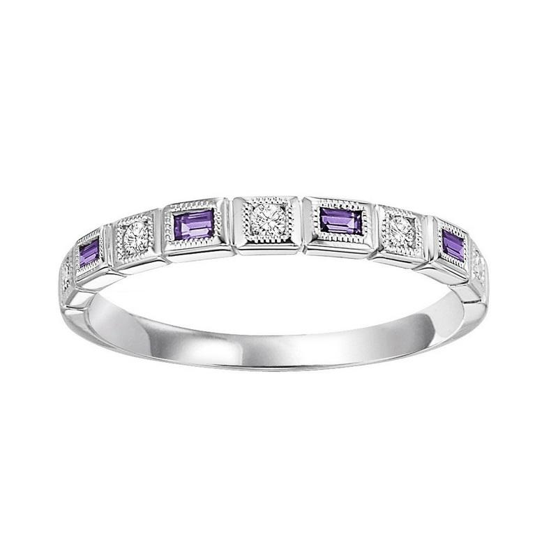 14kw mix bezel amethyst band 1/12ct, pc8200p1-4w