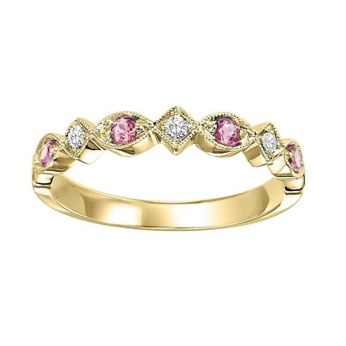 14ky mix prong alexandrite band 1/20ct, kbm15-4wd