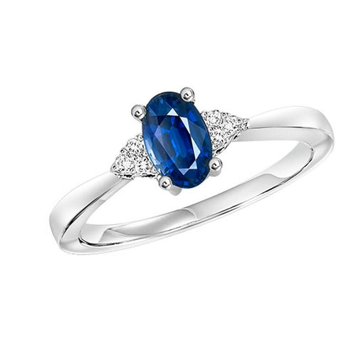 10kw color ens prong sapphire ring 1/25ct, er24324-4wc