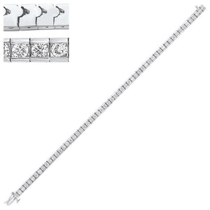 14kw diamond channel bracelet, rg10056-4pd