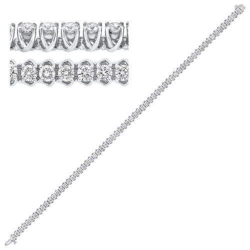 14kw prong diamond bracelet 7ct, rg10061-1pd