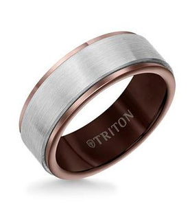 8MM Men's Tungsten Carbide Band