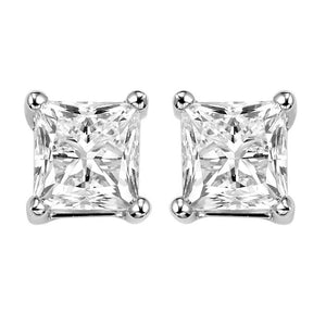14kw prong diamond studs 1 1/4ct, fr1069-4pd