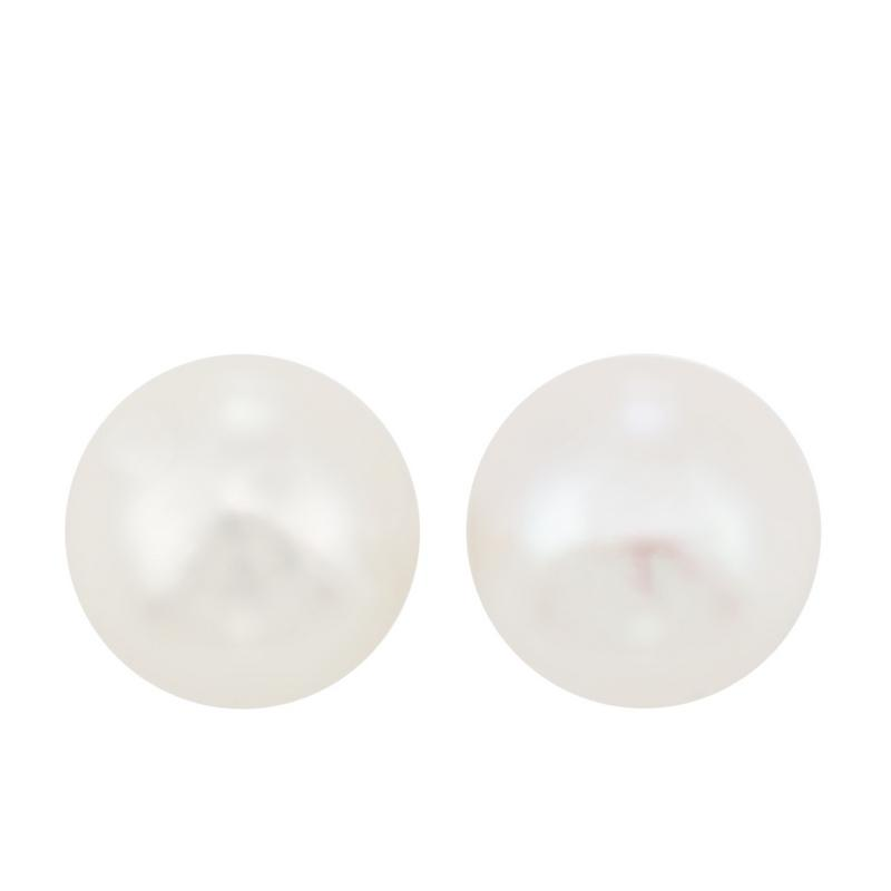 14kw cultured pearl earrings, fp4030-1wdb