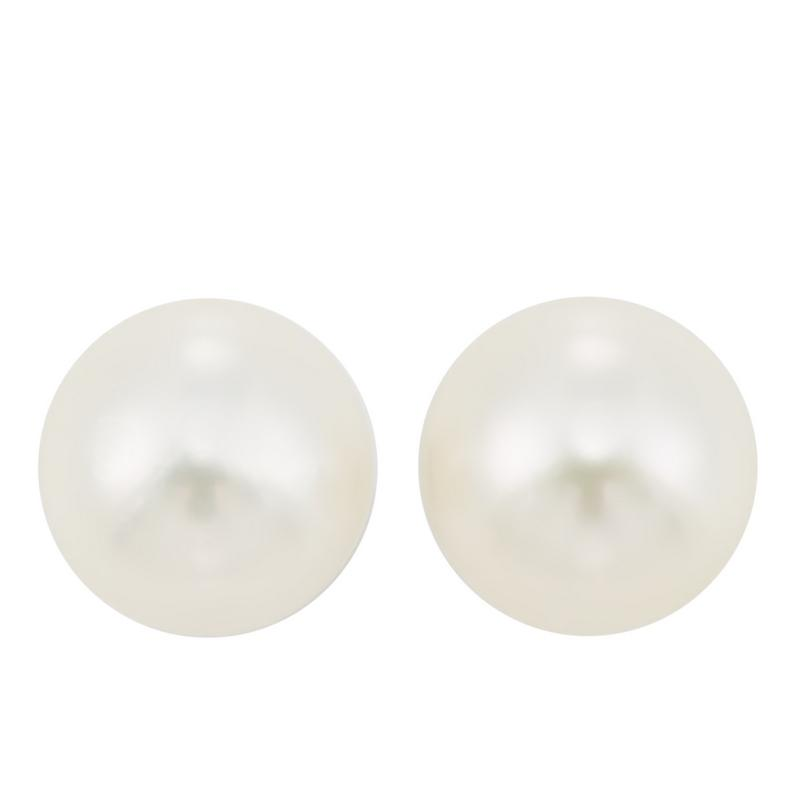 14kw cultured pearl earrings, fr4030-1wdb