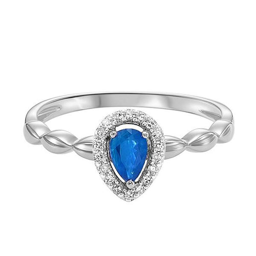 10kw color ens prong sapphire ring 1/14ct, fr1030-1yd