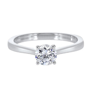 14kw solitaire prong diamond ring 1ct, hdcr009-4wd